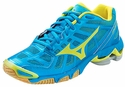 Mizuno Wave Lightning RX2 Womens Turquoise & Yellow Volleyball Shoe