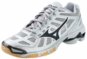 Mizuno Wave Lightning RX2 Women's Silver & Black Volleyball Shoe
