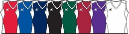 Mizuno Women's Classic Sleeveless G2 Jersey - in 8 Colors