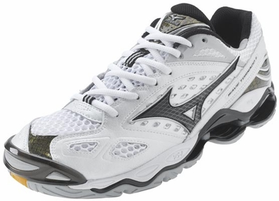 Mizuno Wave Tornado 6 Mens White Volleyball Shoes