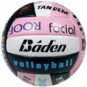 Baden Sayings Pink & Black Volleyball