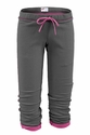 Soffe Grey Fleece Capris - Choice of 22 Sport Imprints on Rear