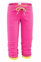 Soffe Pink Fleece Capris - Choice of 22 Sport Imprints on Rear