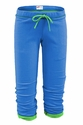 Soffe Blue Fleece Capris - Choice of 22 Sport Imprints on Rear
