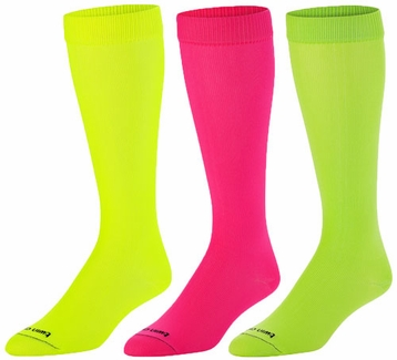 Neon Knee-High KraziSox - in 3 Bright Sock Colors