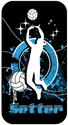 Volleyball Setter iPhone 4 / 4S Phone Case