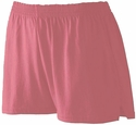Hot Pink Jersey Shorts - Choice of 10 Sport Imprints on Leg