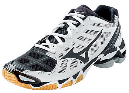 Mizuno Wave Lightning RX2 Men�s White & Black Volleyball Shoe