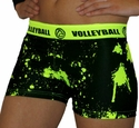 Highlighter Volleyball Splat Flip Band Spandex