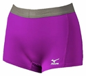 Mizuno Flat Front G2 Spandex Shorts - in 5 Colors