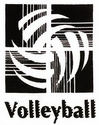 Volleyball Abstract Discount T-Shirt