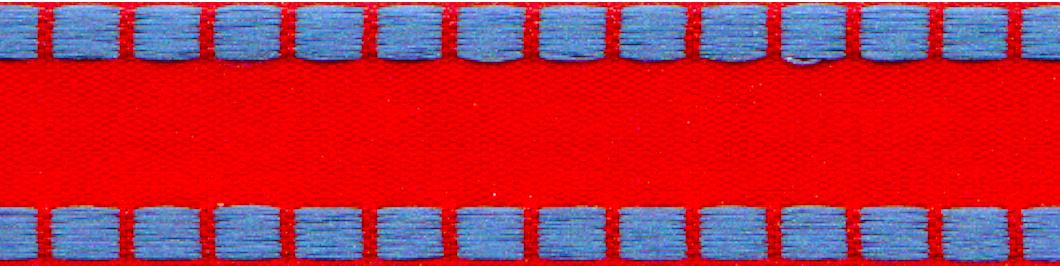 Raggedy Ann Border Check Ribbon  **Limited Availability**