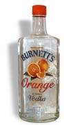 Burnetts Orange Vodka