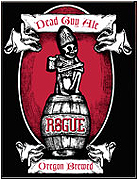 Rogue Brewery Dead Guy Glow in the Dark Growler 64oz.