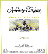 Navarro Correas Syrah Coleccion Privada