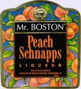 Mr. Boston Peach Schnapps 1.0L