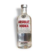 Absolut Vodka 100 proof  1.0L