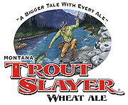Big Sky Brewery Trout Slayer Ale 6 pack cans