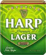 Harp Irish Ale 6-pack 12oz. Bottles