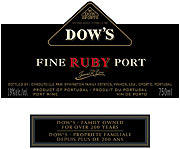 Dows Ruby Port