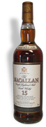 Macallan Single Malt Scotch 15 Year