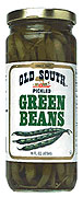 Old South Pickled Green Beans 16oz.