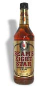 Beam 8 Star Whiskey  1.0L