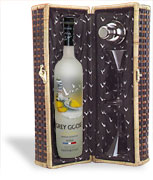 Grey Goose Citreon Vodka Picnic Basket 1.75L
