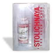 Stolichnaya Vodka & Ice Shot Glass Set