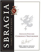 Sbragia Family Vineyards Cabernet Sauvignon Andolsen Vineyard 2006