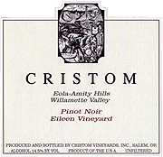 Cristom Vineyards Pinot Noir Eileen Vineyard 2009