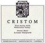 Cristom Vineyards Pinot Noir Louise Vineyard 2009