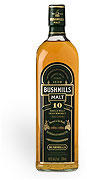 Bushmills Irish Whiskey 10 year Old Single Malt