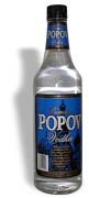 Popov Vodka 100 proof