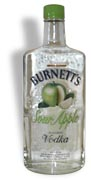Burnetts Sour Apple Vodka