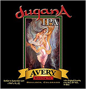 Avery Brewing Company Dugana IPA 22oz.