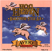 Avery Brewing Company Hog Heaven Barleywine 22oz.