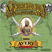 Avery Brewing Company Maharaja Imperial IPA 22oz