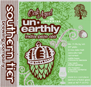 Southern Tier Brewery Oak Aged Unearthly IIPA
