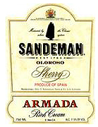 Sandeman Armada Cream Sherry