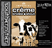 Southern Tier Brewery Cr�me Brulee Stout 22oz.