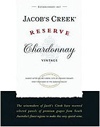 Jacobs Creek Chardonnay Reserve 2012