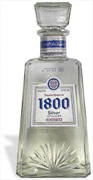 1800 Silver Tequila 1L.