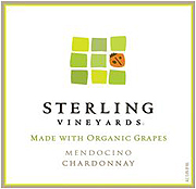 Sterling Vineyards Organic Chardonnay 2008