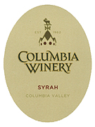 Columbia Winery Syrah