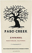 Paso Creek Zinfandel 2011