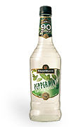Hiram Walker Peppermint Schnapps 90 proof