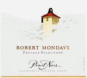 Robert Mondavi Pinot Noir Private Selection 2010