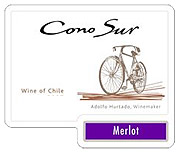 Cono Sur Merlot Bicycle Series