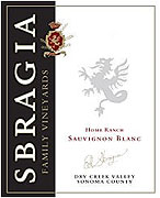 Sbragia Family Vineyards Sauvignon Blanc Dry Creek Valley 2009